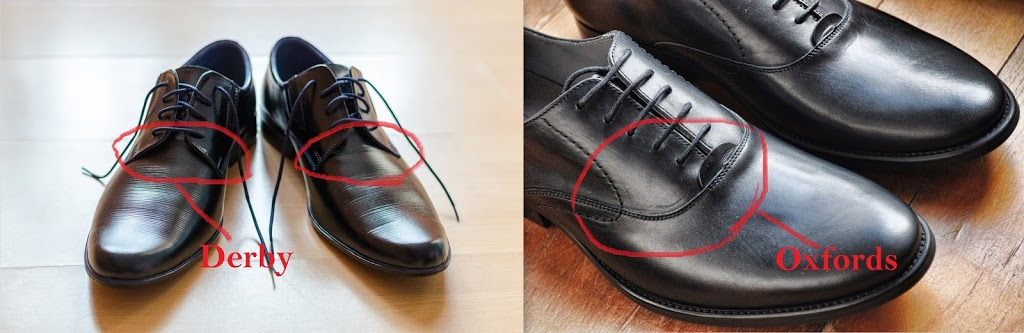 different types of shoes oxford and derby shoes