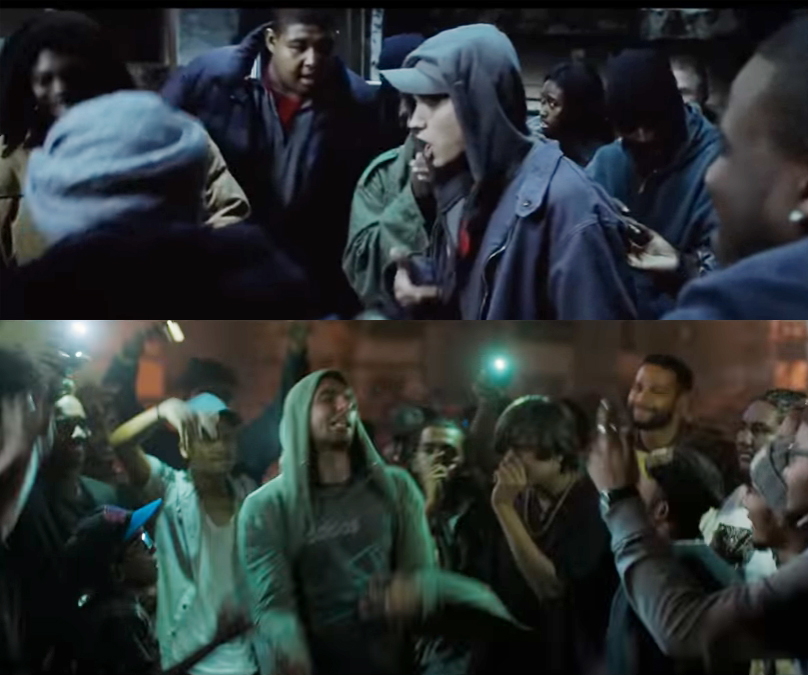 8 mile and gully boy similarity