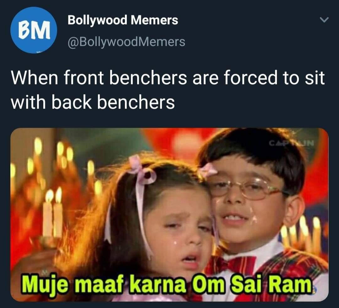 backbencher memes boy and girl hugging